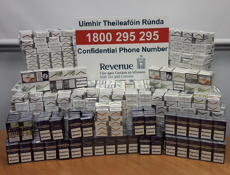 Revenue seize 21,000 illicit cigarettes in Cork City