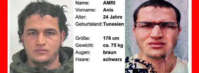 Nephew of Berlin Christmas market attacker Anis Amri arrested