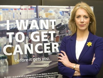 "Hard-hitting new campaign highlights ""cancer epidemic"" facing Ireland"