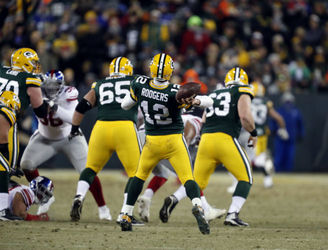 Hail Aaron! Green Bay Packers beat the Giants in Wildcard Weekend