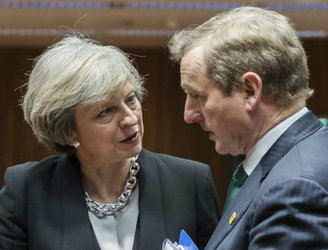 Kenny, May hold talks over Northern Ireland crisis
