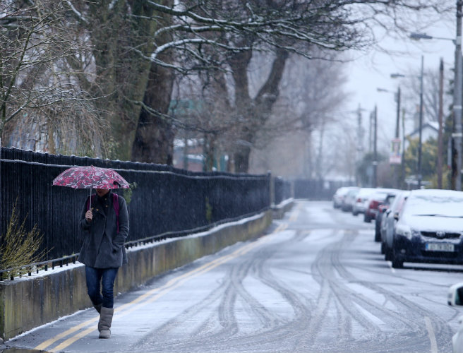 Met Éireann upgrade snow and ice warning to status orange