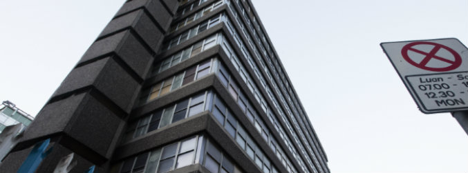 One man remains inside Apollo House, despite court order