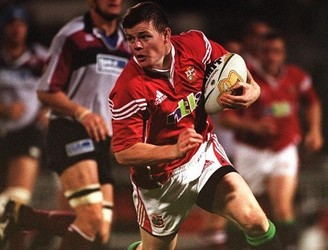 Brian O'Driscoll reflects on his first Lions call up