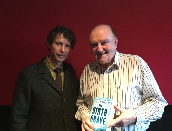 George Hook meets Stefan Ahnhem, his new favourite crime writer