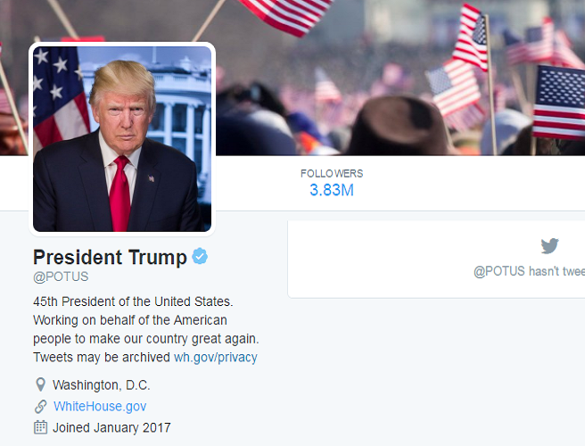 How Twitter reacted to the inauguration of President Trump
