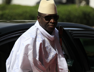 Former Gambian president agrees to relinquish power