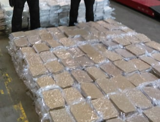 Gardaí display €37.5m worth of herbal cannabis seized in Dublin