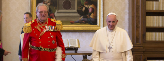 Knights of Malta chief resigns amid Vatican condom row