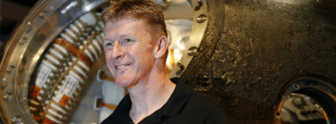 British astronaut Tim Peake returning to space