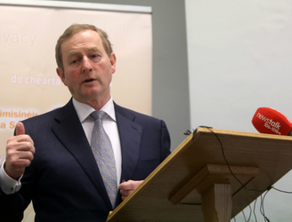 Taoiseach upbeat over America's undocumented Irish