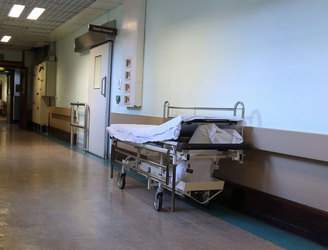 601 people waiting for beds in hospitals today