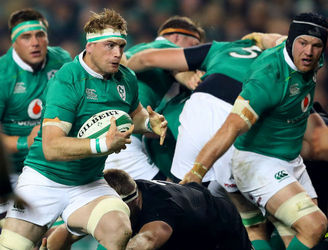 "Ireland's back-row will bring ""huge physicality"""