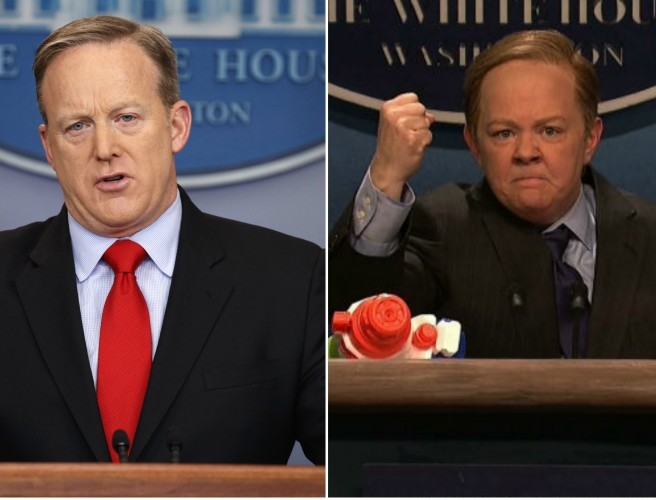 Spicer speaks out on 'SNL' skit