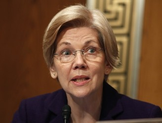 Republican senators silence Elizabeth Warren during debate