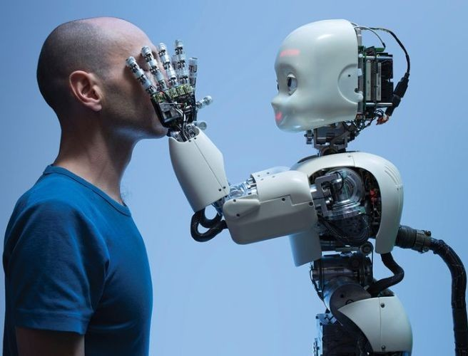 Roger Highfield: 'Robots? I'm not frightened'