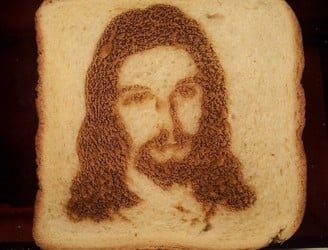 Matter of Taste: Why it's fine to see Jesus in your toast