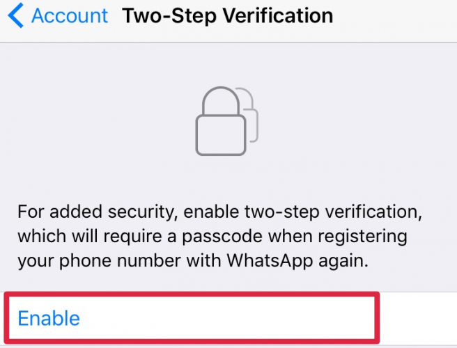 Use WhatsApp? Secure your account now