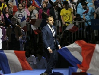 Russia accused of meddling in French election
