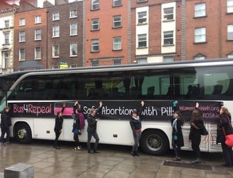 Campaigners to drive Bus 4 Repeal around Ireland