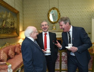 Michael D. Higgins launches the President's Cup