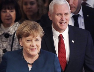 Pence: US backs NATO, but other countries must pay