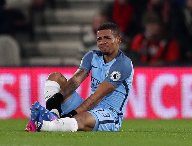 Gabriel Jesus could be out for season