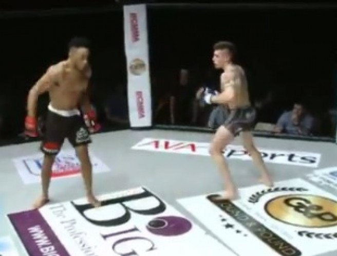 WATCH: MMA fighter dances into brutal head-kick KO