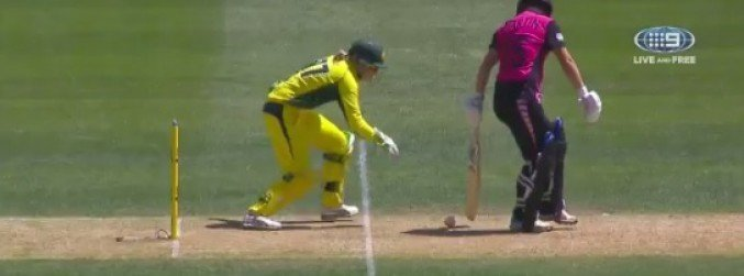 WATCH: Is this the unluckiest cricket dismissal ever?