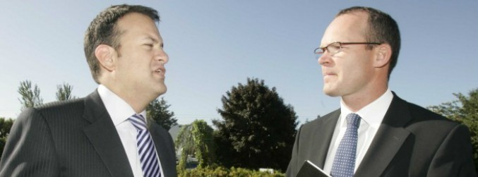 Coveney and Varadkar refuse to be drawn on leadership