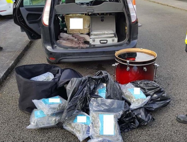 Gardaí seize cannabis worth over €250,000
