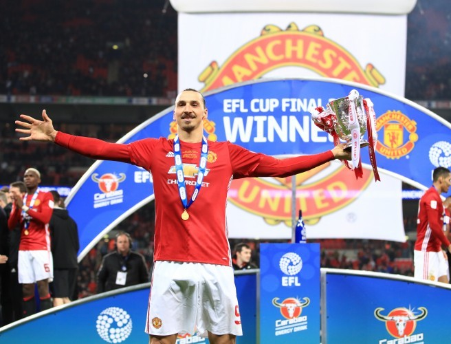 Manchester United, Zlatan Ibrahimovic, EFL Cup final