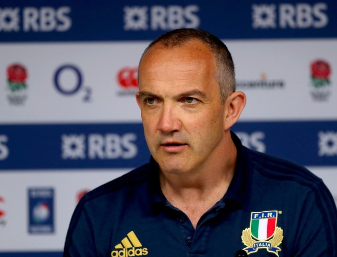 Conor O'Shea, Italy, Six Nations