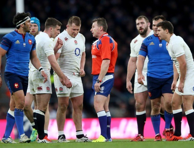 Nigel Owens surprised at England's lack of knowledge of the ruck
