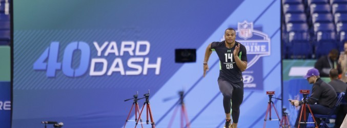 Want to own your own island? Run 4.23 at the NFL Combine