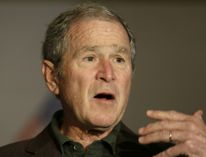 "Bush calls press ""indispensable"" to democracy"
