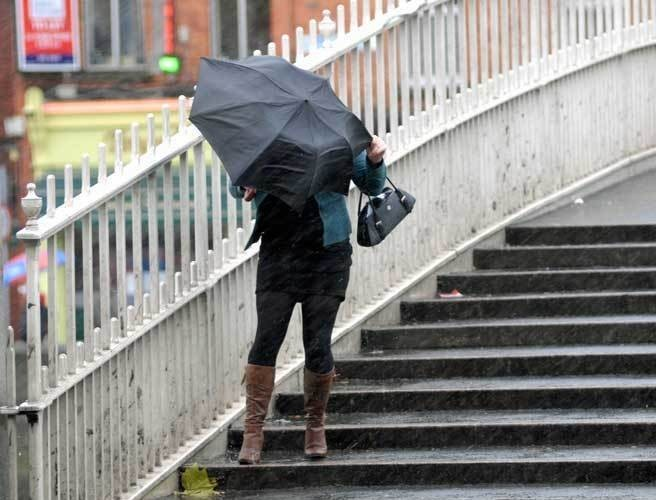 Batten down the hatches: wet and windy weekend ahead