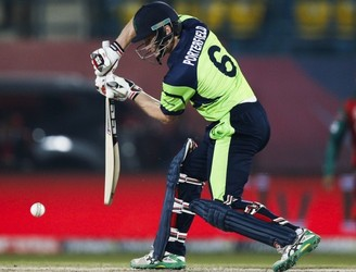 Porterfield century leads Ireland to victory over UAE