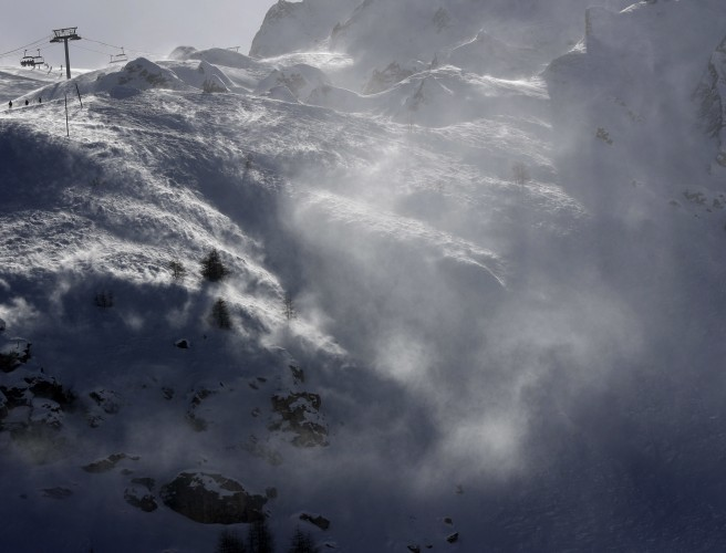 'No victims to report' after avalanche in French Alps