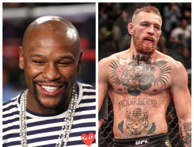 Floyd Mayweather Signs Contract To Fight Conor McGregor
