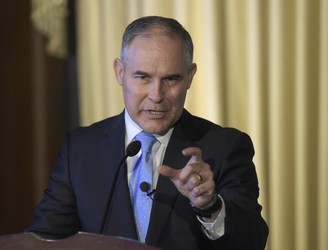 US EPA chief criticised over carbon dioxide comments