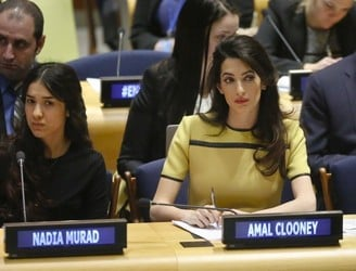 'Don't let Islamic State get away with genocide', Amal Clooney warns