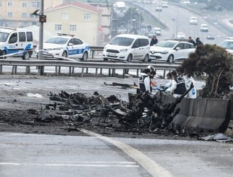 At least five dead after Istanbul helicopter crash