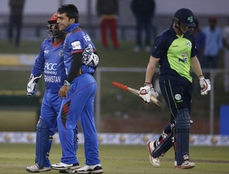 Ireland lose rain affected T20 against Afghanistan