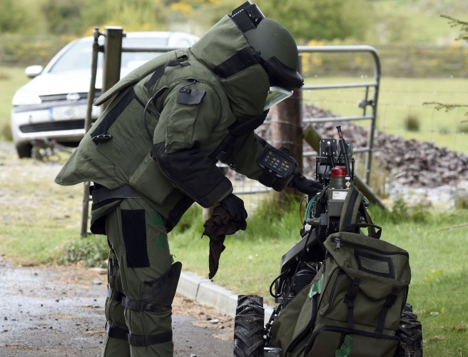 'Suspect device' made safe in Tullamore
