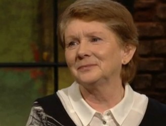 Standing ovation for Catherine Corless on Late Late Show