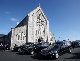 Funeral mass takes place for victims of Clondalkin fire