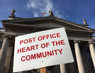 WATCH: Protest at GPO over post office closures