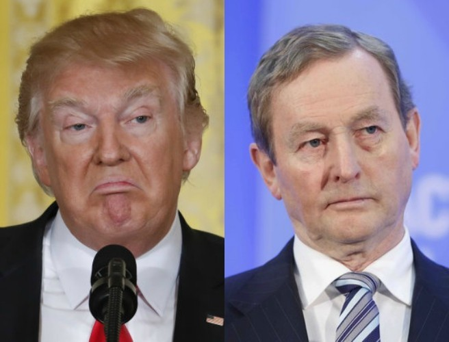 Taoiseach will not apologise to Trump