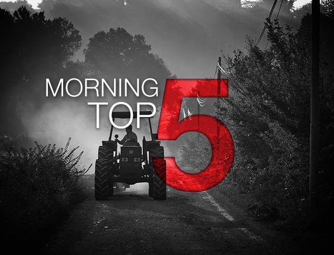 Morning top 5: Trump's travel ban halted; Kenny meets Trump; and Brexit bill